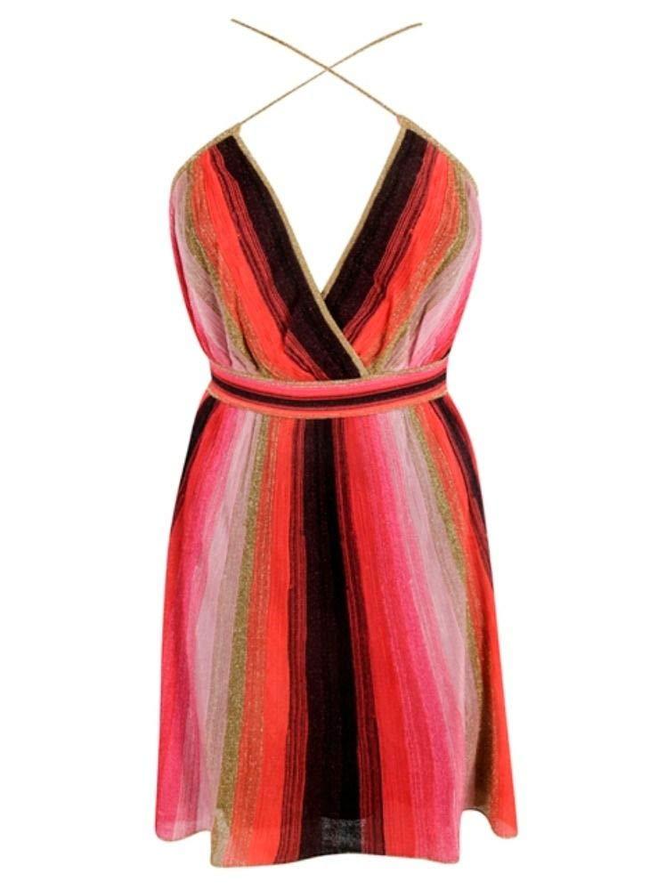 M Missoni Women's 2DG000562K0030L4022 Multicolor Viscose Dress