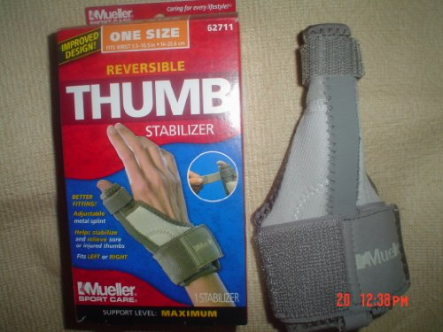 reversible thumb stabilizer one