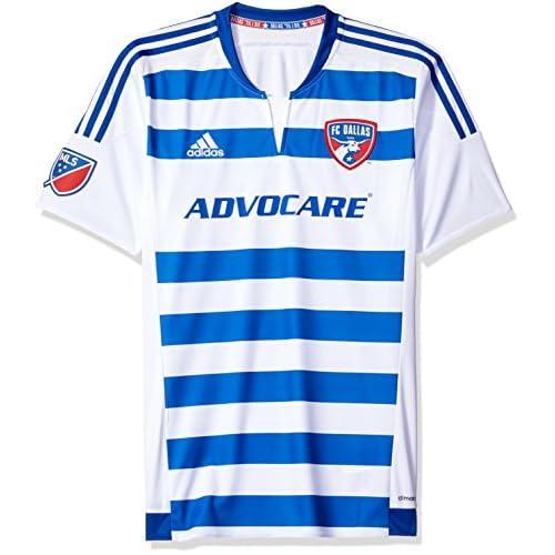 32da7f4c4c2 MLS FC Dallas Men s Replica Short Sleeve Jersey
