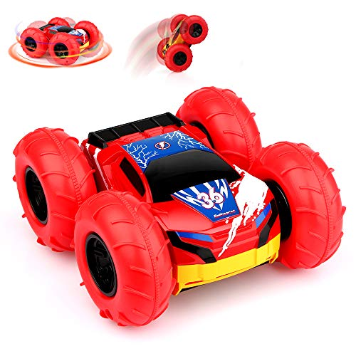 Betheaces Remote Control Car, RC Cars for Kids 360 Degree Flips High Speed Stunt Car Toys for Boys Girls 4WD 2.4GHz Off Road Racing Vehicles for Outdoor & Indoor Children Birthday Gifts