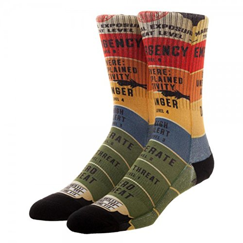 Fantastic Beasts And Where To Find Them Threat Level Crew Socks (Exposures Film 12)