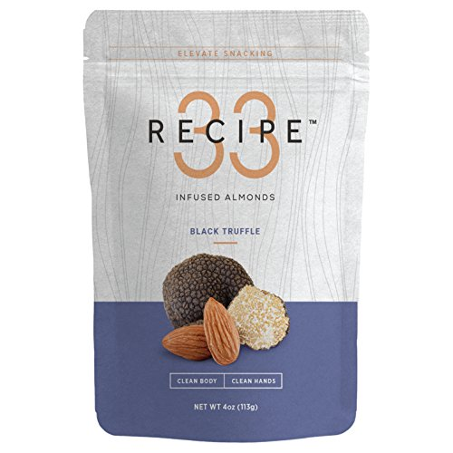 Recipe 33, Almonds Black Truffle Infused, 4 ()