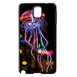 Colorful jellyfish Brand New Cover Case for Samsung Galaxy Note 3 N9000,diy case cover ygtg-710541