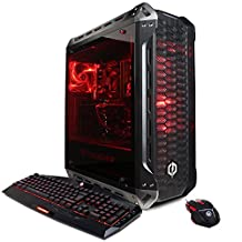 CYBERPOWERPC Gamer Xtreme GXi10980CPG Desktoop Gaming PC (Intel i7-8700K 3.7GHz, 8GB DDR4, NVIDIA GeForce GTX 1050 Ti 4GB, 2TB HDD, WiFi & Win 10 Home) Black