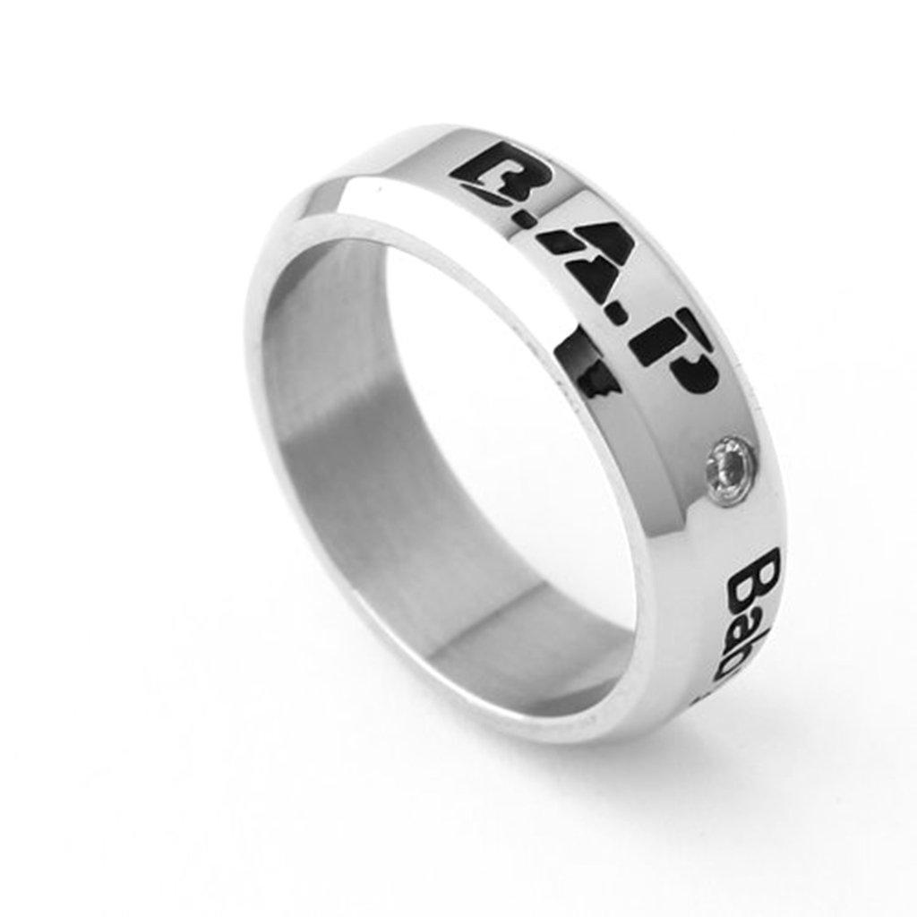BAP Kpop members accessories tatianium birthday ring necklace hot sale B.A.P. MATOKI merchandise jewelry (team logo)