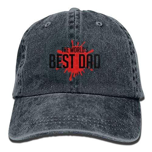 Baseball Adjustable Denim Gorras Hat Dad Tactical Best Wold's Hats béisbol ruishandianqi Male wnqSB07Oxv