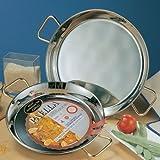 Garcima 70080 Valencia Stainless Steel Paella Pan Diameter 80 cm, Multi Colour