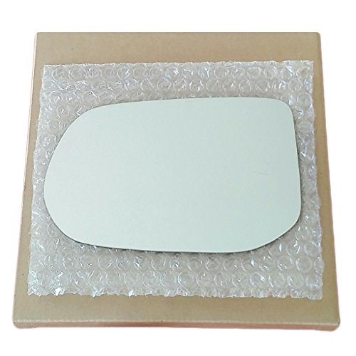 Mirror Glass and Adhesive | 06-11 Honda Civic 4 Door Sedan Driver Left Side Replacement - FITS SEDAN MODEL (4 Door Sedan Models)