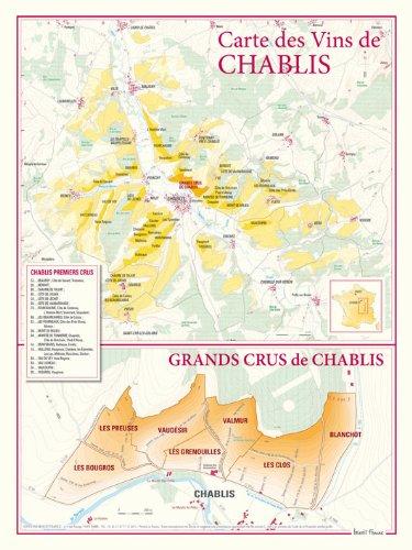 Vin Grand Cru - Carte des vins de Chablis et des Grands Crus