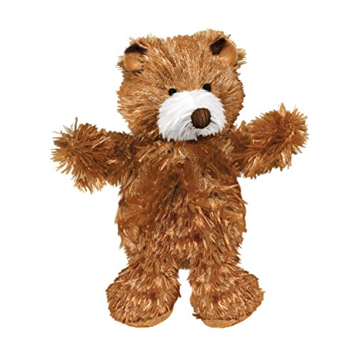 (KONG Teddy Bear Dog Toy, Medium, Brown)