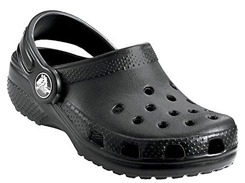 crocs Kid's Classic Clog 10006,Black,C12C13 Little Kid