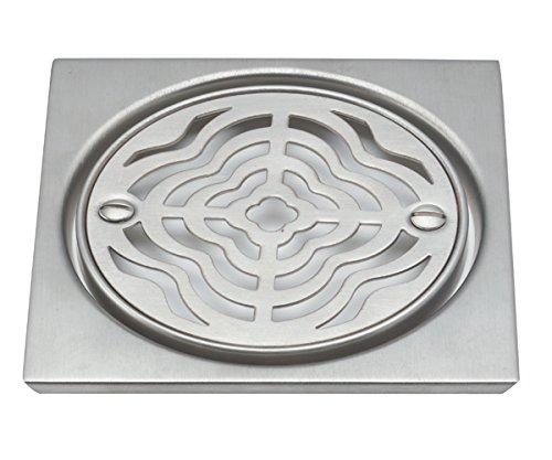 "California Faucets 9160M-MOB|""MOOR"" Style Deluxe Shower Drain Trim Kit, Mocha Bronze"