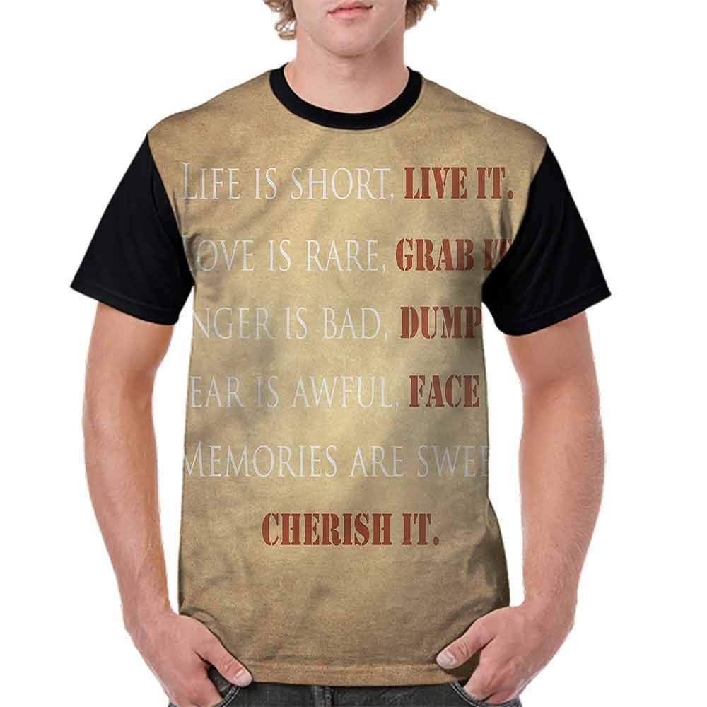 Vintage T-Shirt,Life is Better in Flip Flops Fashion Personality Customization