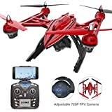 Holy Stone HS400 FPV Drone with Adjustable 720p Camera, Altitude Hold, One Key Return, and Headless Mode