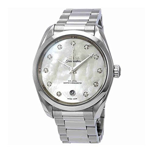 Omega Seamaster Aqua Terra Chronometer - Omega Seamaster Aqua Terra Automatic Chronometer Diamond Ladies Watch 220.10.38.20.55.001