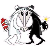 "Spy vs Spy Decal is 5"" in size from the United States"