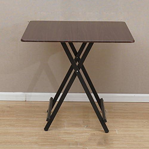 mesa plegable Mena UK Simple Mesa portátil Mesa de Comedor Mesa de ...