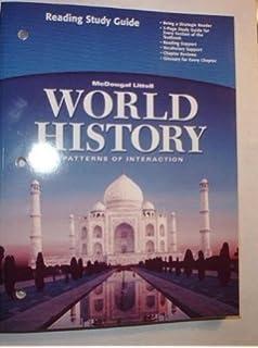 Amazon modern world history patterns of interaction reading world history patterns of interaction teachers edition fandeluxe Choice Image