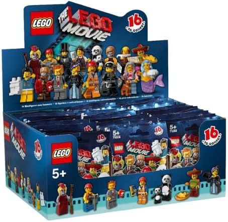 LEGO Minifiguras - Caja de 60 Sobres Sorpresa - Serie Película - 6059270: Amazon.es: Juguetes y juegos
