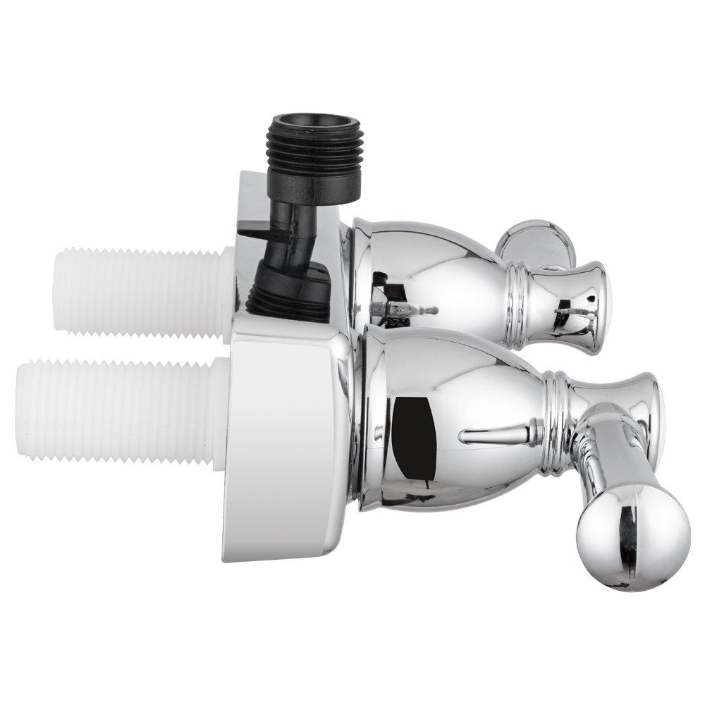 Amazon.com: Dura Faucet DF-SA100L-CP Designer Rv Shower Faucet ...