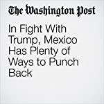 In Fight With Trump, Mexico Has Plenty of Ways to Punch Back | Joshua Partlow,David Agren