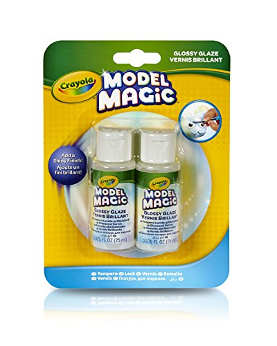 Crayola Model Magic Glossy Glaze, 2/ Pack