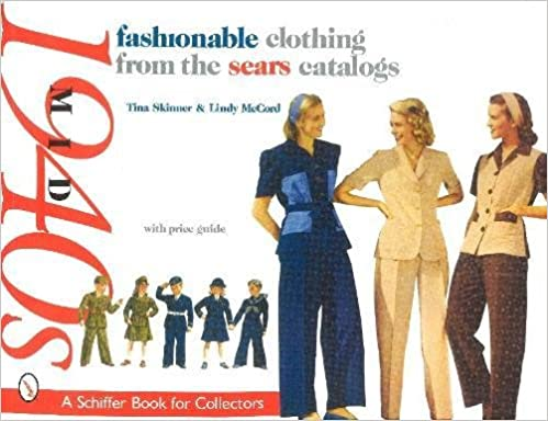 1940s Fashion Books | 1940s Fashion History Research Fashionable Clothing from the Sears Catalogs Mid 1940s (Schiffer Book for Collectors)  AT vintagedancer.com