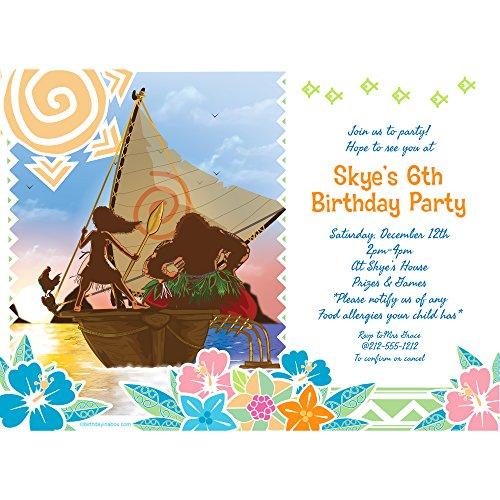 Island Princess Personalized Invitation (Each)