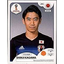 2018 Panini World Cup Stickers Russia #663 Shinji Kagawa