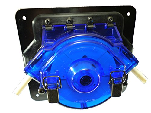 Simply Pumps PM600 Peristaltic Self Priming High Flow Heavy Duty Tubing Pump, 12V, DC, 90 GPH Maximum Flow Rate