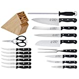 Messermeister Park Plaza 17-Piece Knife Block Set For Sale