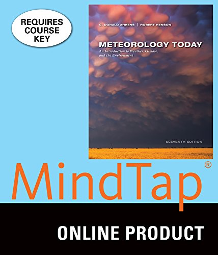 MindTap Meteorology for Ahrens' Meteorology Today, 11th Edition