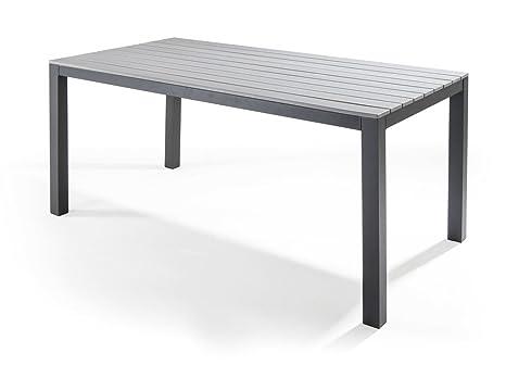 Tavolo Esterno Fai Da Te.Biacchi Tavolo Da Giardino Alluminio Modello Pianosa Amazon It