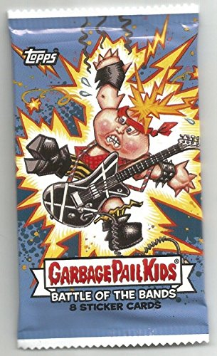 2017 TOPPS GARBAGE PAIL KIDS BATTLE OF THE BANDS PACK - 1 PACK OF 8 CARDS