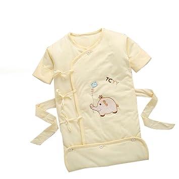 COYUE - Saco de Dormir para recién Nacido, algodón, cálido, para bebé, algodón, antijugar, Primavera y otoño, una Pieza: Amazon.es: Hogar