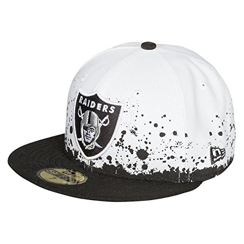 New Era Homme Casquettes / Fitted Panel Splatter Oakland Raiders 59Fifty