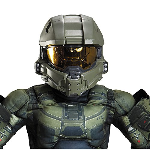 Master Chief Halloween Costumes (Master Chief Child Helmet)