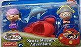 : Little Einsteins 4 Inch Figure 2-Pack Pirate Mission Adventure