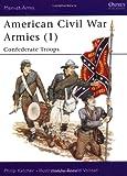 American Civil War Armies (1) : Confederate Troops (Men at Arms Series, 170)