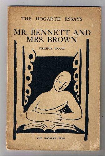Amazon.it: Mr. Bennett and Mrs. Brown. The Hogarth Essays - Woolf, Virginia - Libri