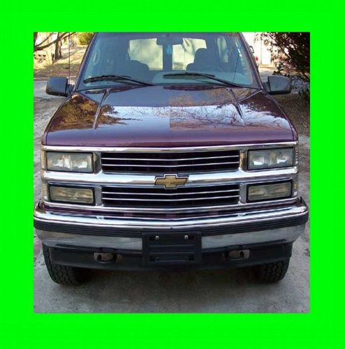1992-1999 CHEVROLET SUBURBAN CHROME GRILL GRILLE KIT CHEVY 1993 1994 1995 1996 1997 1998 92 93 94 95 96 97 98 99 LT LS 1500 2500 3500 (93 Chevy 1500 Grille compare prices)