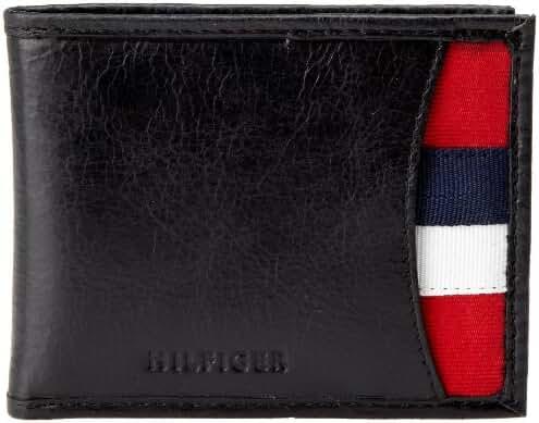 Tommy Hilfiger Men's Bexley Passcase Billfold Wallet