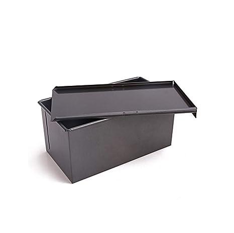 THOR-YAN Antiadherente Tostada Molde Tostada Horno Caja de Pan Caja de Pastel con Tapa