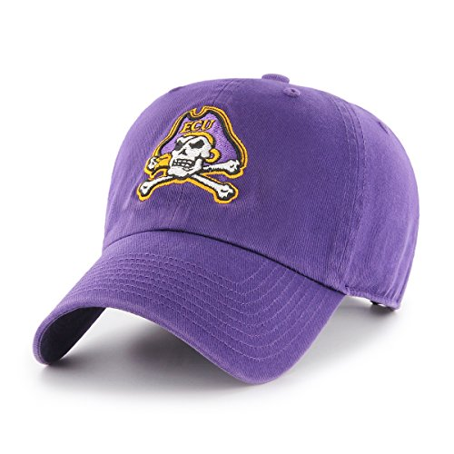 NCAA East Carolina Pirates OTS Challenger Adjustable Hat, Purple, One Size