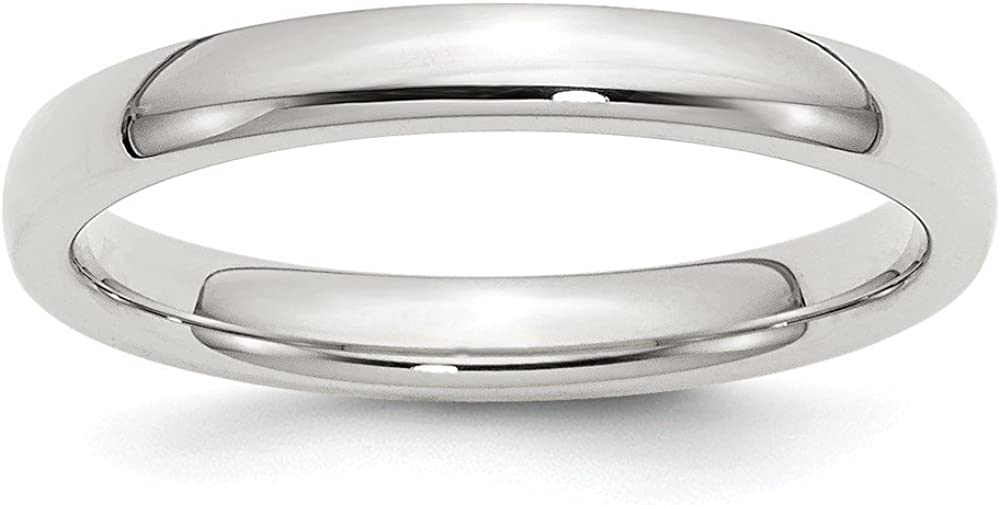 Solid 925 Sterling Silver Max 57% Max 89% OFF OFF 3mm Wedding Comfort Fit Band
