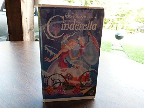 Walt Disney's Cinderella RARE Black Diamond Classic (VHS - Black Vhs