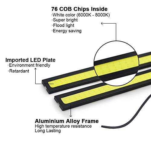 RioRand-2-Piece-Waterproof-Aluminum-High-Power-6W-6000K-Xenon-Slim-COB-LED-Daytime-Running-Light-White
