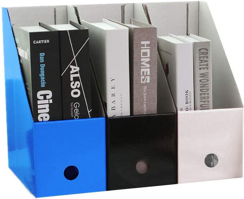 YuoungYuan Revistero Archivador Archivadores Carton Papel Organizador de Almacenamiento Organizadores de Escritorio La Revista de Archivos: Amazon.es: Hogar