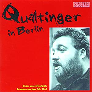 Qualtinger in Berlin Audiobook