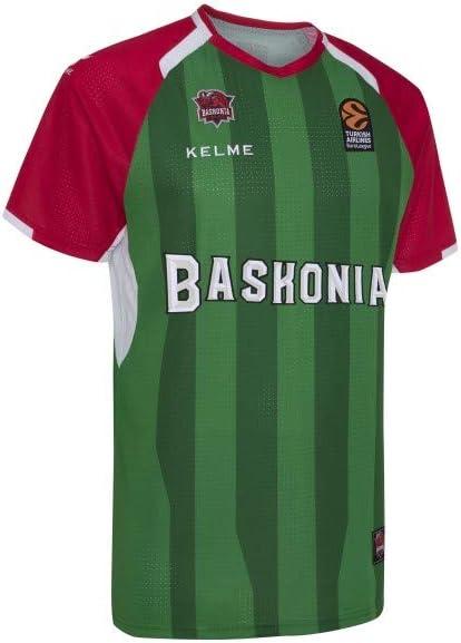 KELME - Camiseta Basket-Shoot 18/19 Baskonia: Amazon.es: Deportes ...